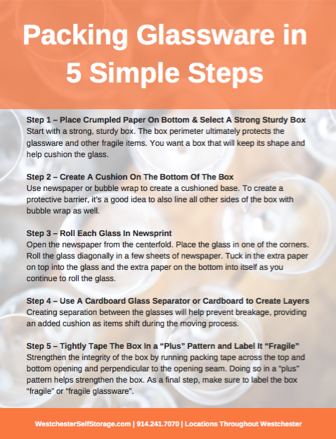 Moving and storage Packing Glassware In 5 Simple Steps PDF screenshot